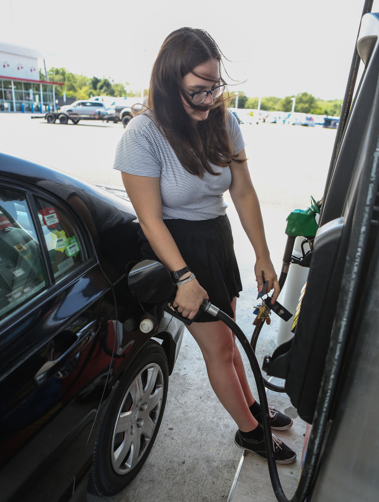 Hurricane Harvey affects gas prices travel plans