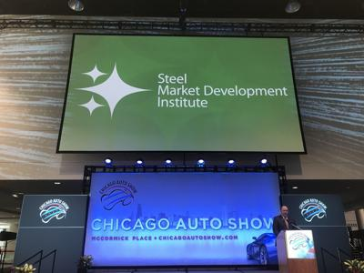 Steel touted as most environmentally friendly at Chicago Auto Show