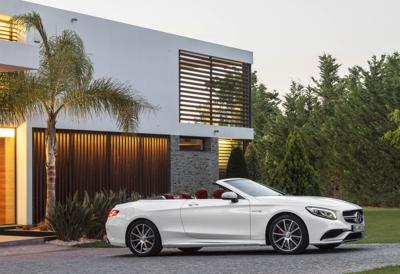 Behind The Wheel 2017 Mercedes S550 Cabriolet