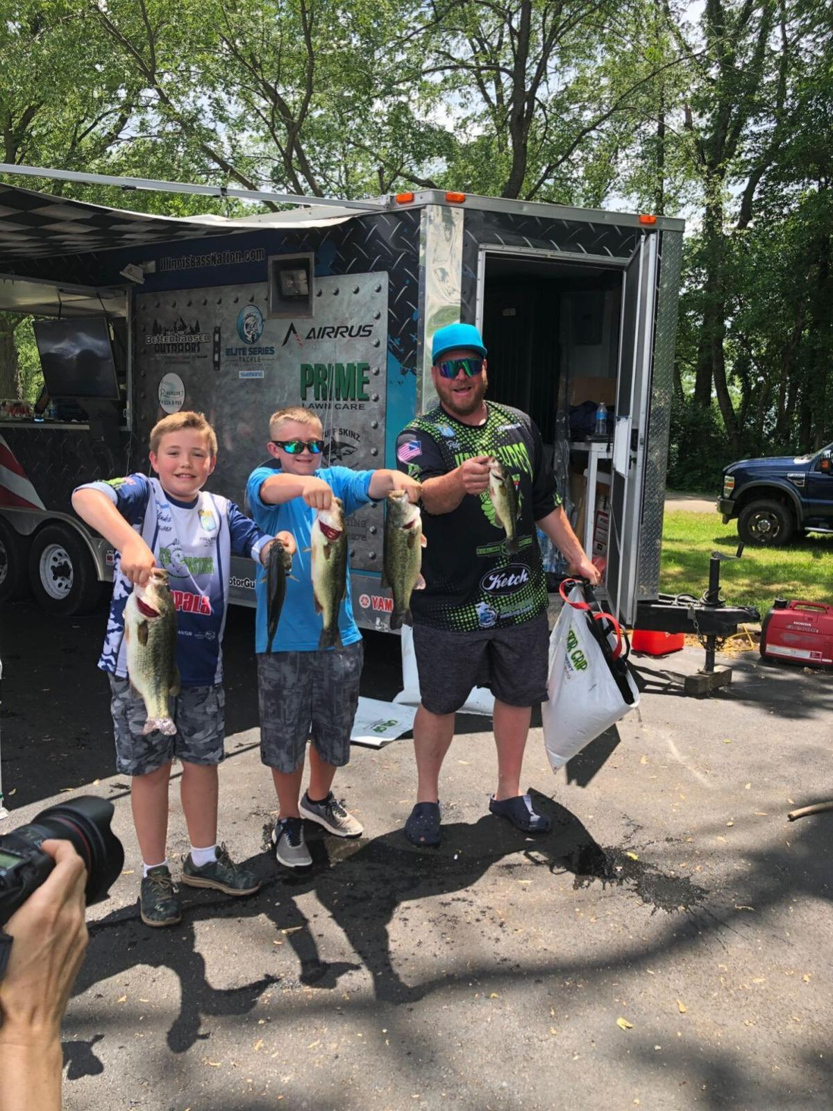 Boys look to reel in national title at Junior Bassmasters