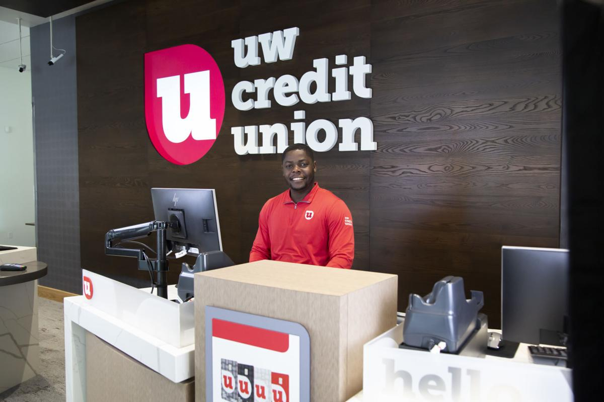 UW Credit Union display
