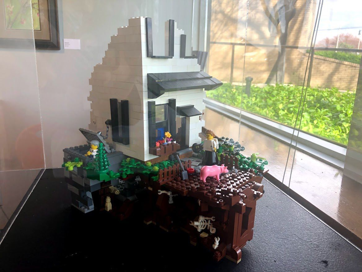 Lubeznik showcasing exhibits that include work of Theaster Gates and a Lego Kurt Vonnegut Jr.