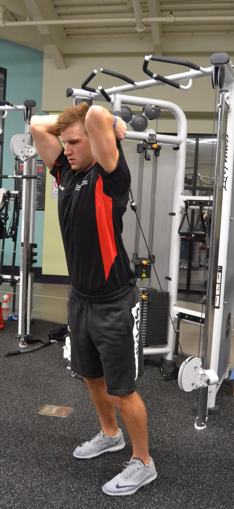Cable Rope Overhead Triceps Extension | Fitness | nwitimes.com