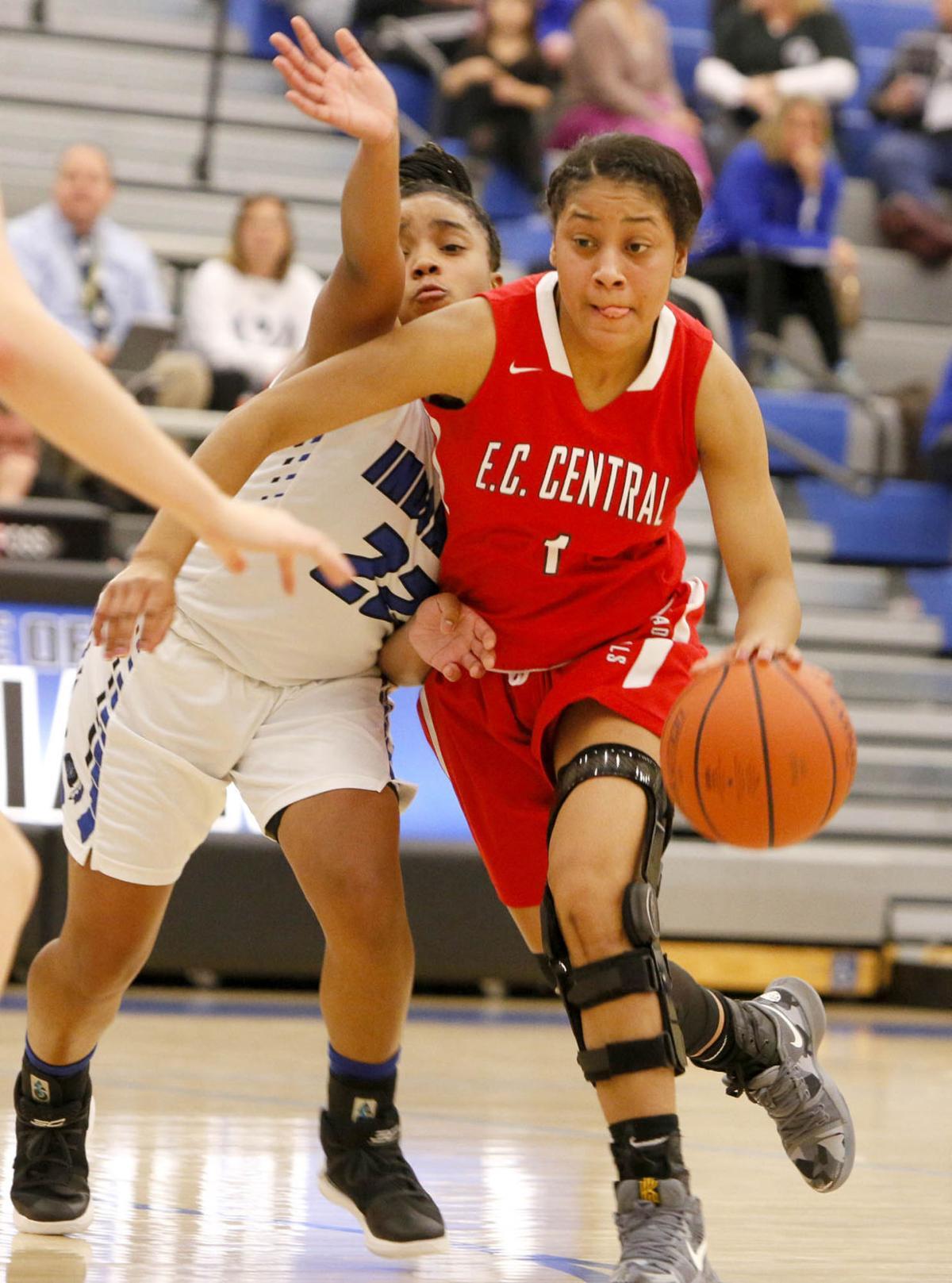 E.C. Central at Lake Central girls basketball