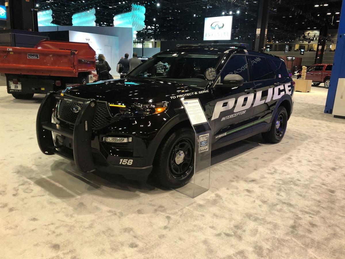 Ford develops COVID-19 sanitization software for Police Interceptor Utility