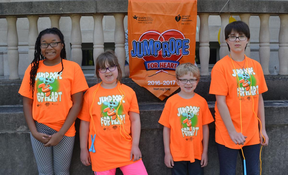 Montessori students participate in Jump Rope for Heart event