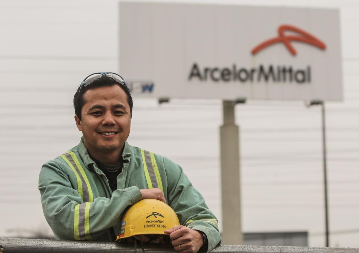 ArcelorMittal Burns Harbor manager David Sena for Progress Edition