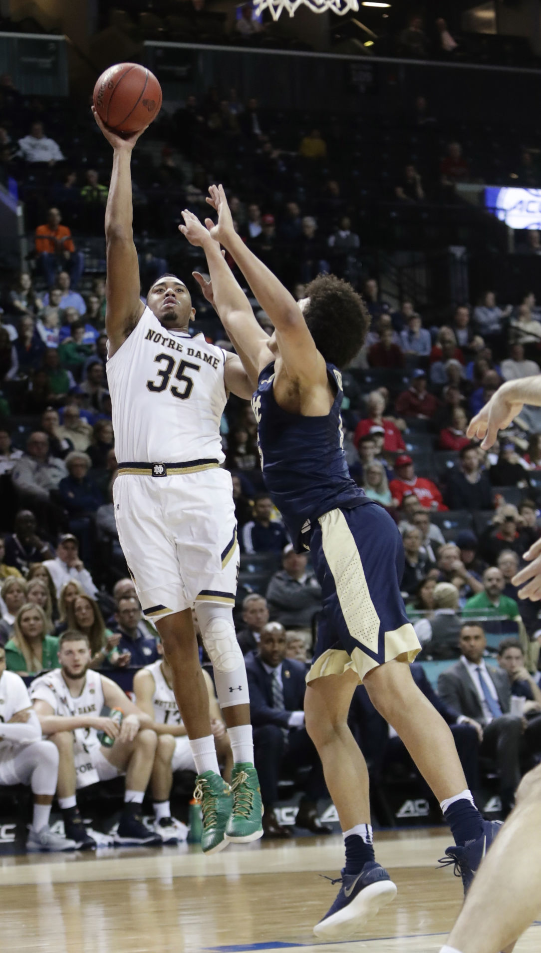 ACC Pittsburgh Notre Dame Basketball
