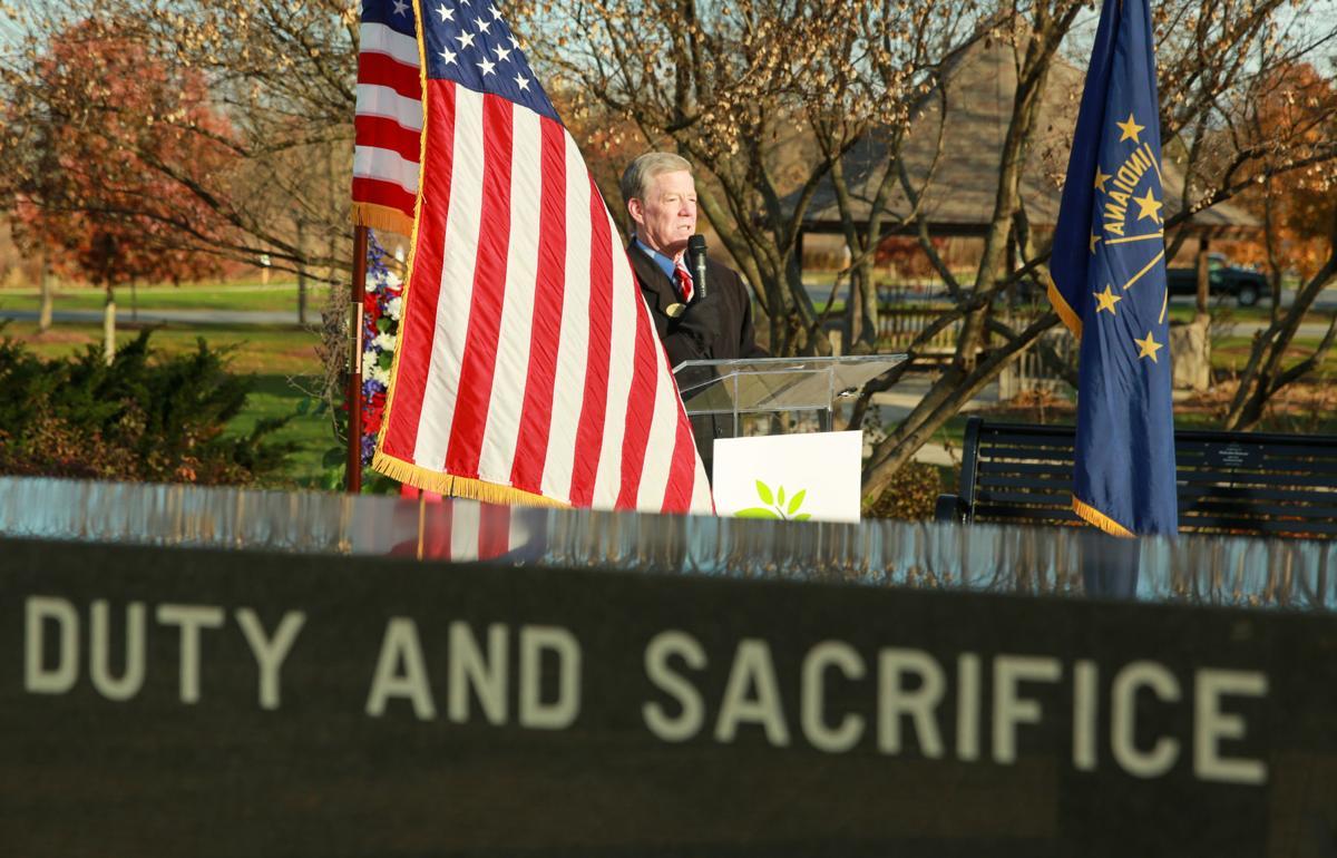 Veterans Service Memorial in Foundation Meadows Park