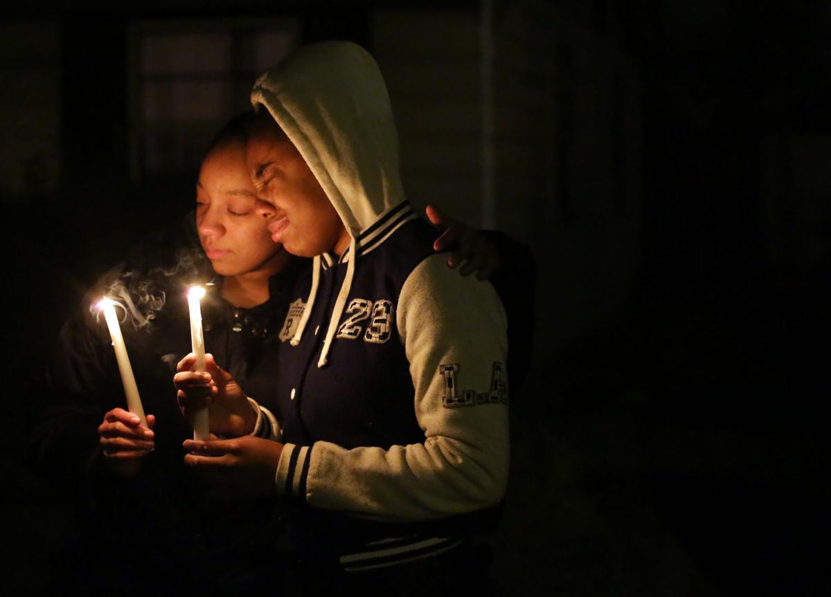 Neighborhood mourns death of teens shot to death