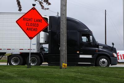 Region road work