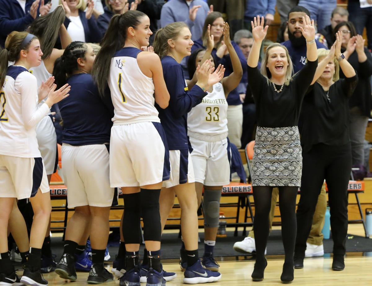 Marquette Catholic/Northfield, girls semistate basektball