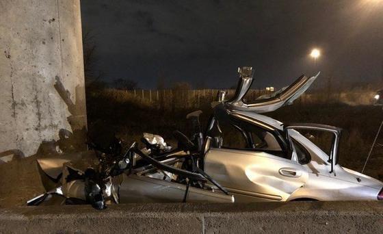 UPDATE: Merrillville man ID'd as victim in fatal overnight crash on Borman Expressway