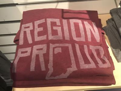 T-shirt company sells Region pride