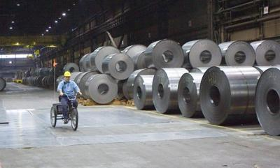 Local steel production rises by 4,000 tons