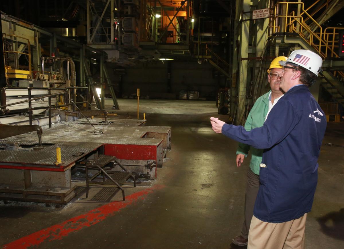 Labor Secretary Acosta visits ArcelorMittal