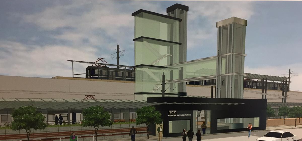Hammond Gateway rendering