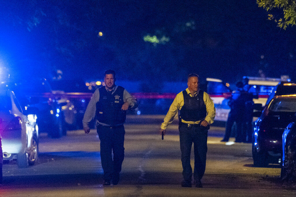 Chicago Police Officers Shot