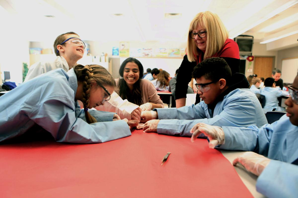 Learning with heart: Munster fourth-graders learn anatomy, heart health through dissections, exercise and more