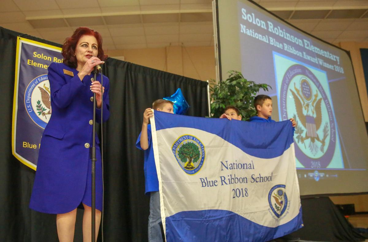 Solon Robinson National Blue Ribbon ceremony