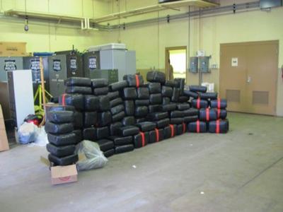 Police: 1,500 pounds of marijuana seized
