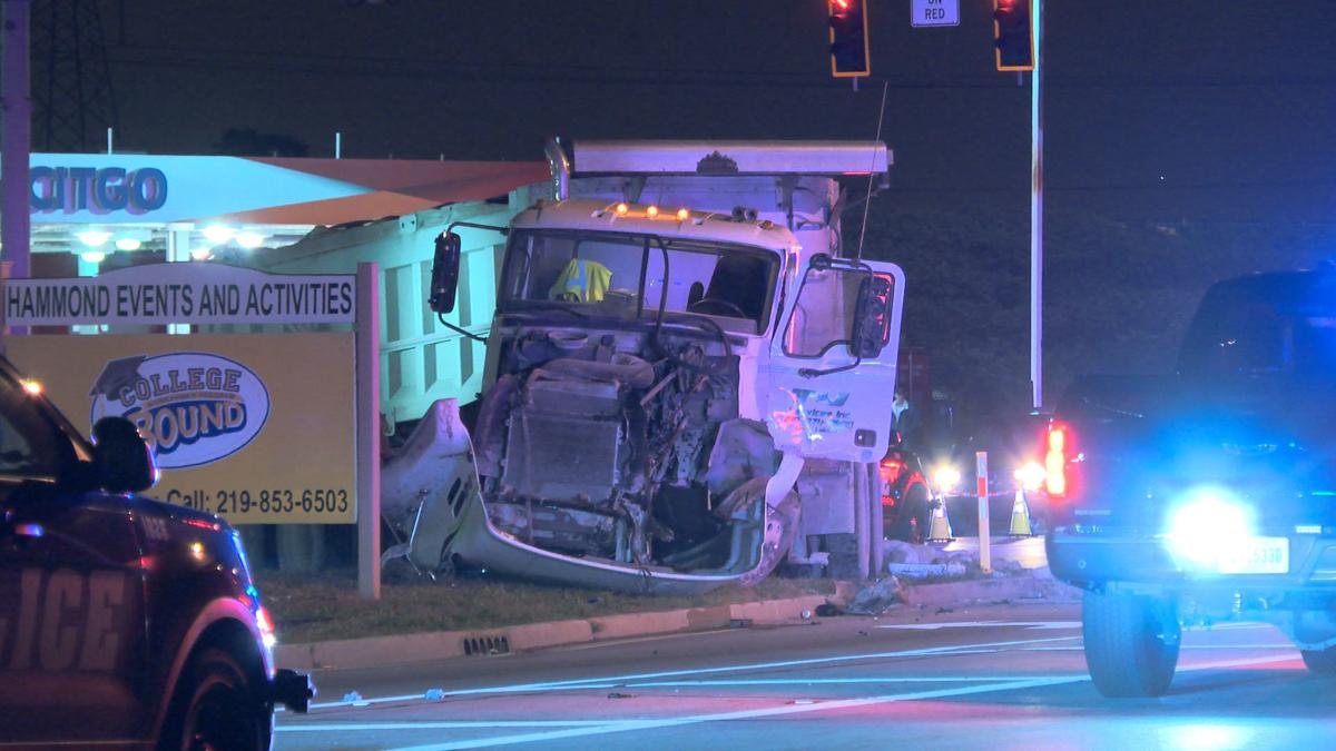 2 Killed, 1 Air lifted after vehicle versus Semi Crash