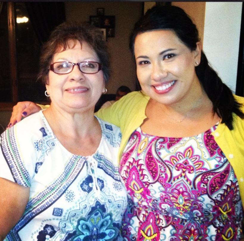 Veronica's mom Carmen