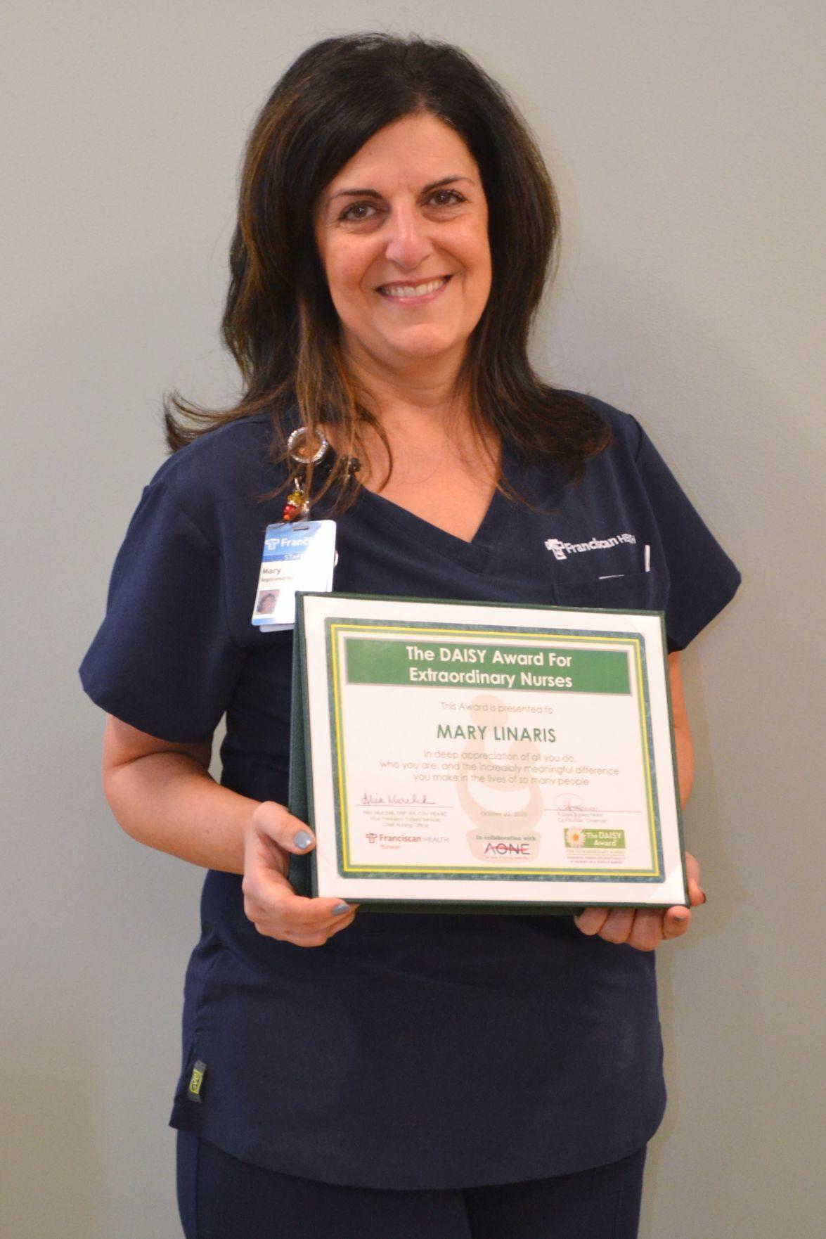Franciscan nurses honored with DAISY Awards