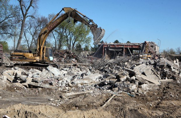 Tamarack Hall demolition