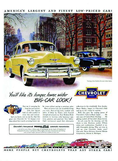 Chevy Ad 1951
