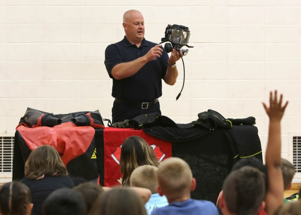 Some 80 youngsters learn how to keep safe in the water in Portage