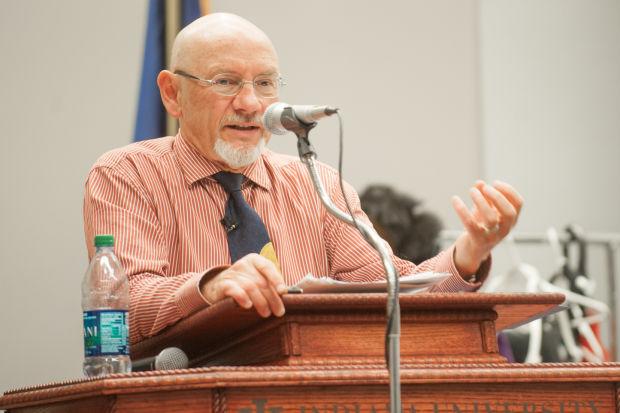 James Garbarino speaks at anti violence seminar