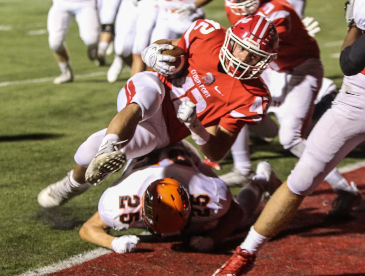 Prep football - LaPorte at Crown Point