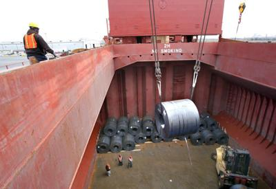 Steel imports down 16% through October