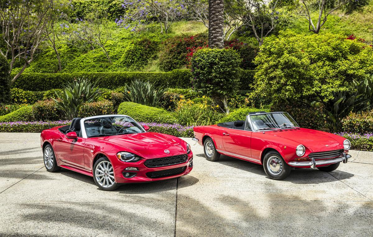 Fiat Resurrects Classic Name With New Spider Cars Nwitimes Com
