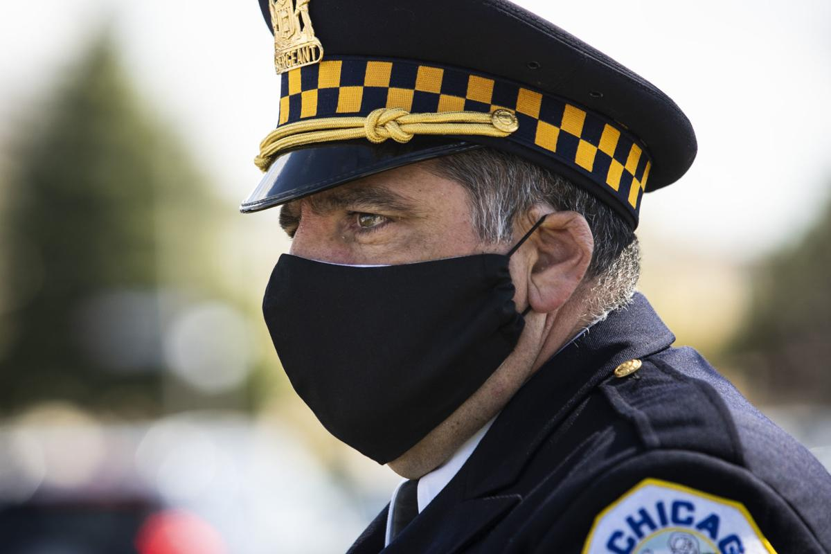 Virus Outbreak Police Funeral