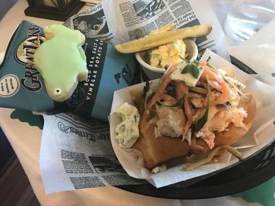 TASTE TEST: Captain's House adds international spice to popular lobster roll
