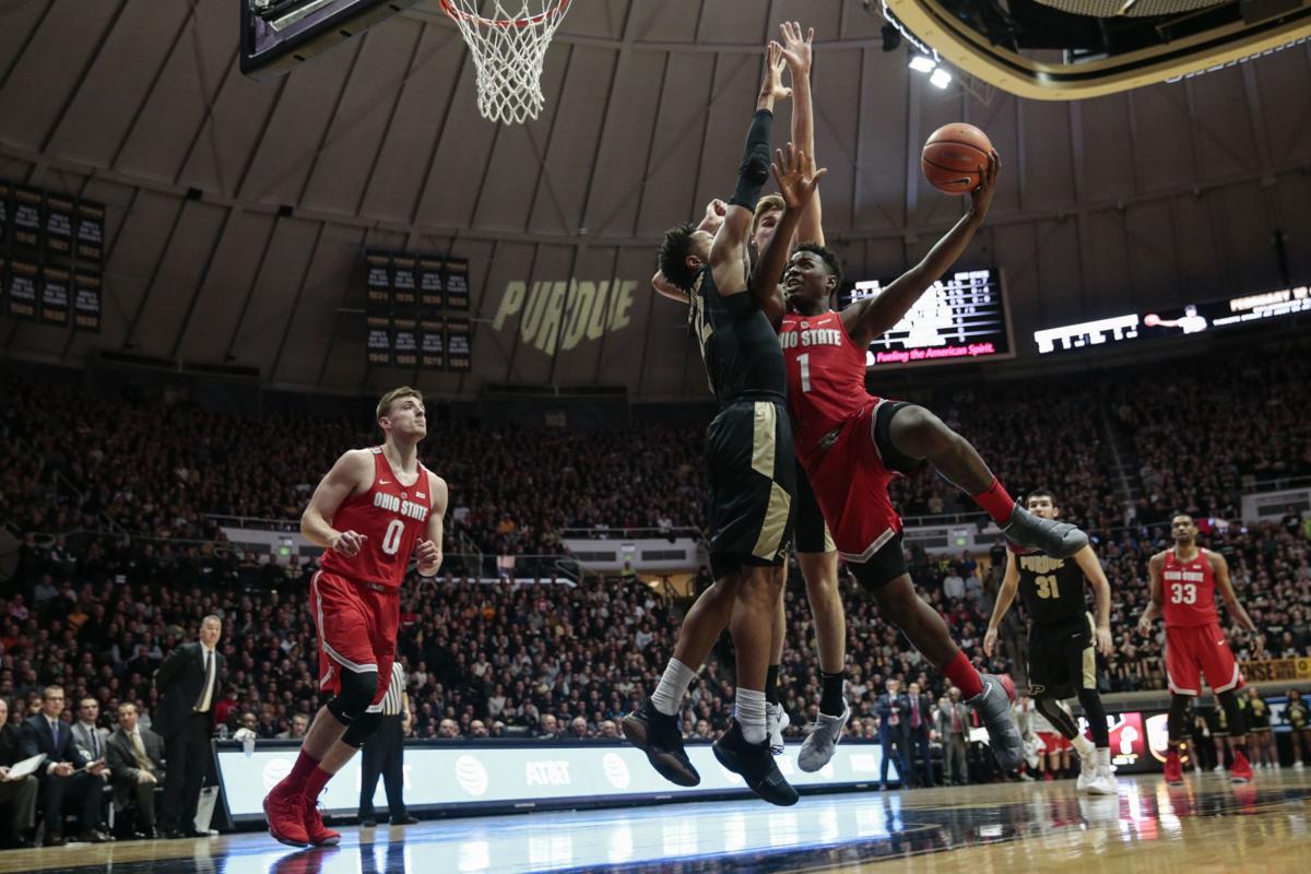 Ohio St Purdue Basketball