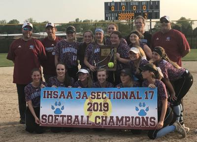 Hanover Central softball wins Class 3A Griffith Sectional