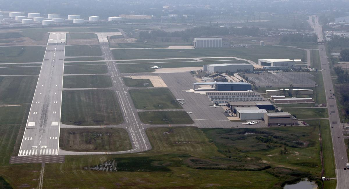 Gary Airport Continues Apron Rehab Northwest Indiana Business - Airports in indiana