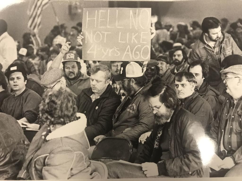 Throwback Thursday: Scenes from the 1986 steel strike/lockout