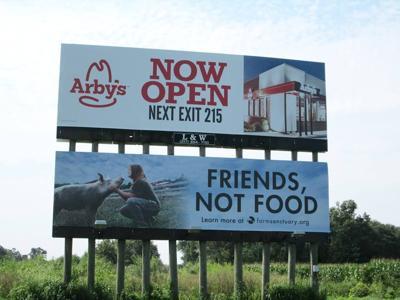 Animal friendly billboard