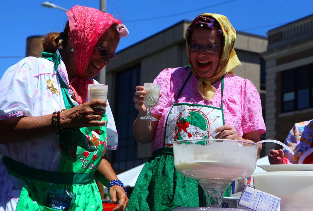 Dumplings and delights reign supreme for 25th year of Pierogi Fest in Whiting