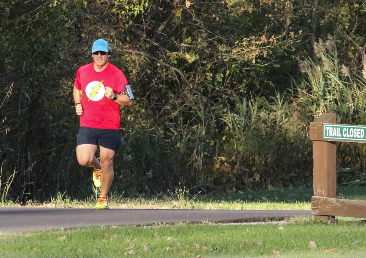 Todd Chamberlain is training to run his first Boston Marathon to raise money for autism research.