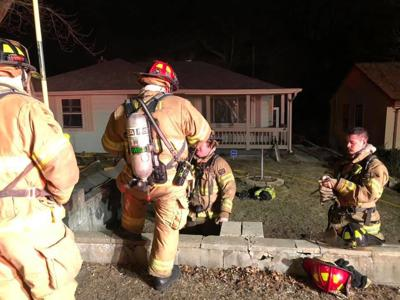 Hobart house fire ignites after man falls asleep with lit cigarette