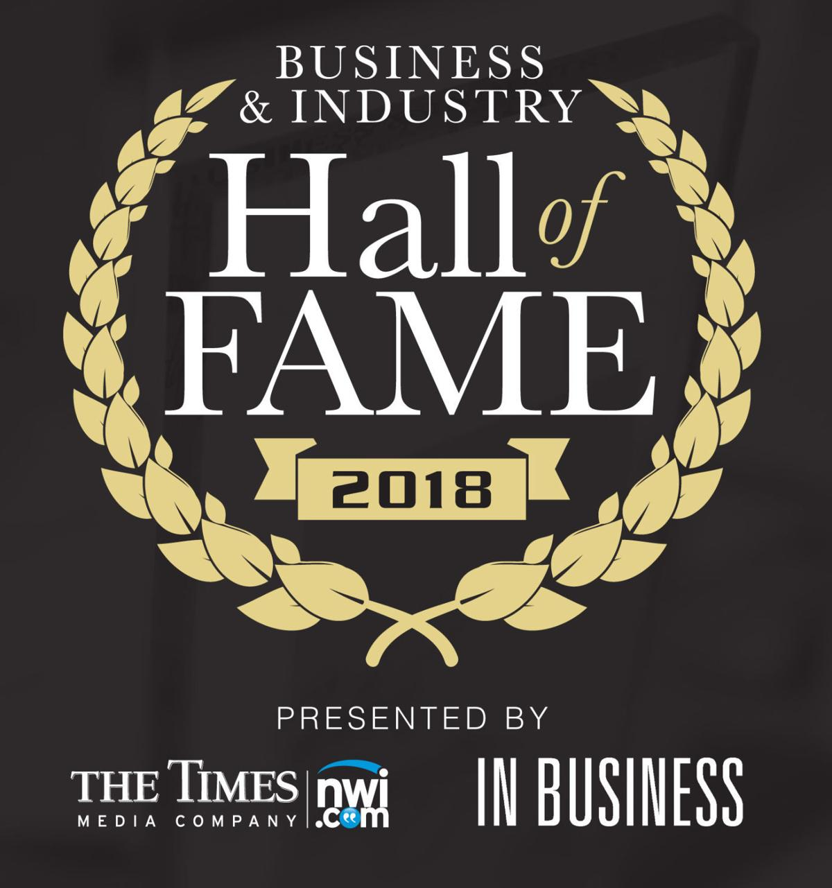 Business & Industry Hall of Fame logo