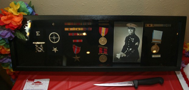 Brother honors Marine's service on battleship
