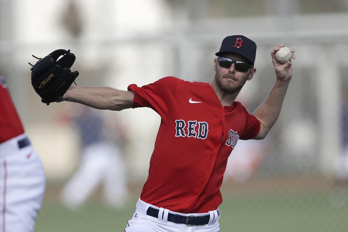 Chris Sale Red Sox Spring Baseball