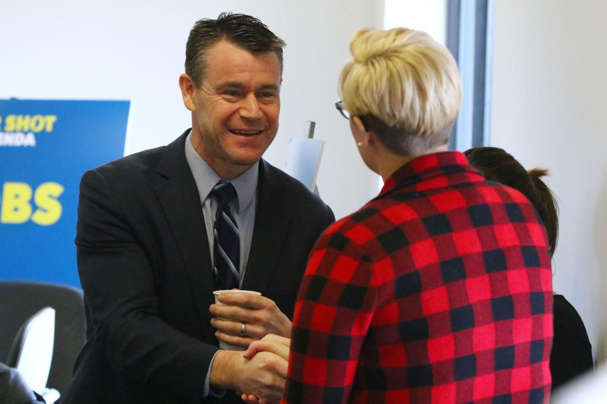 U.S. Sen. Todd Young visits PNW to discuss Fair Shot Agenda