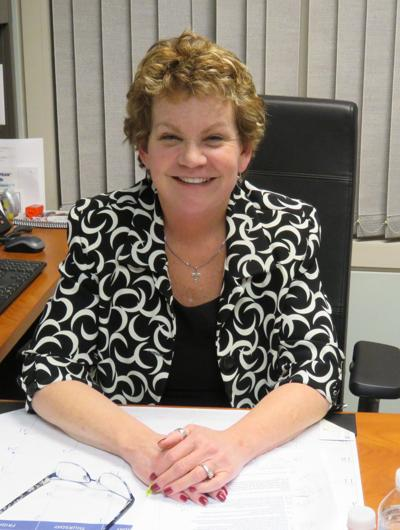 Hanover superintendent Mary Tracy-MacAulay